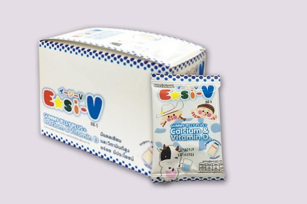 Easi-V Gummy (Calcium & Vitamin D)